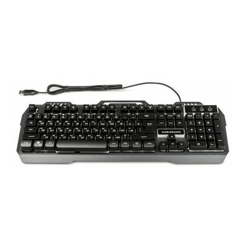 Клавиатура NAKATOMI KG-35U Black USB