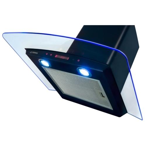 Каминная вытяжка GERMES Alt sensor 60 black