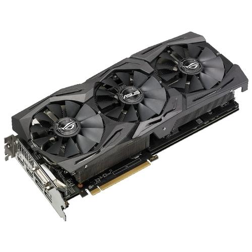 Видеокарта ASUS Radeon RX 580 1360MHz PCI-E 3.0 8192MB 8000MHz 256 bit DVI 2xHDMI HDCP Strix OC Gaming