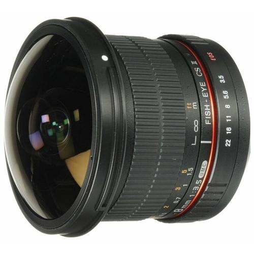 "Объектив Samyang 8mm f/3.5 AS IF UMC Fish-eye CS II Canon EF"""