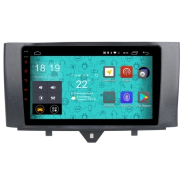 Автомагнитола Parafar 4G/LTE IPS Mercedes Smart 2011-2015 Android 7.1.1 (PF215)
