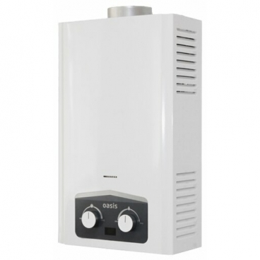 Проточный газовый водонагреватель Oasis Modern 20M
