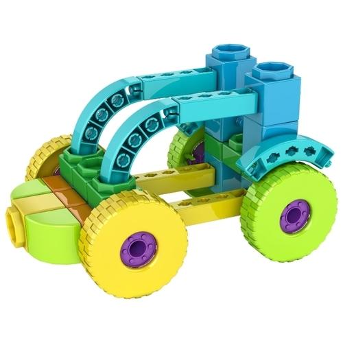 Конструктор ENGINO Qboidz QB04A Трактор 4 в 1
