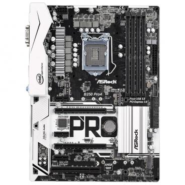 Материнская плата ASRock B250 Pro4