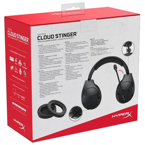 Компьютерная гарнитура HyperX Cloud Stinger Wireless PC