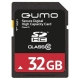 Карта памяти Qumo SDHC Card Class 10