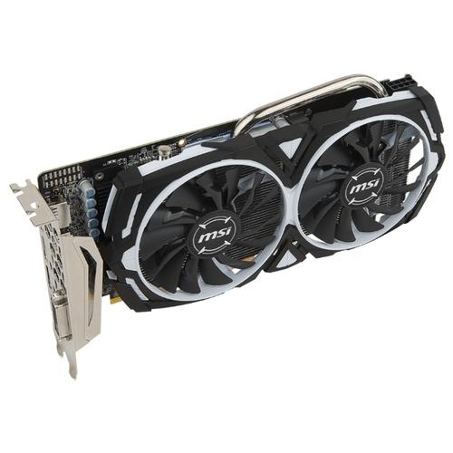 Видеокарта MSI Radeon RX 570 1244Mhz PCI-E 3.0 4096Mb 7000Mhz 256 bit DVI HDMI HDCP Armor