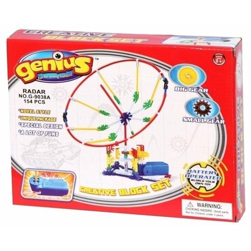 Электромеханический конструктор Genius G-9038A Радар