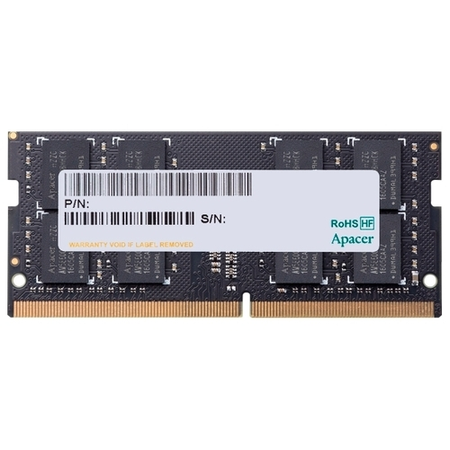 Оперативная память 8 ГБ 1 шт. Apacer DDR4 2666 SO-DIMM 8Gb