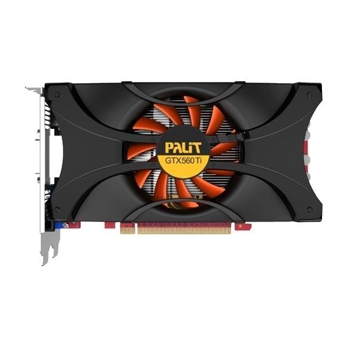Видеокарта Palit GeForce GTX 560 Ti 822Mhz PCI-E 2.0 1024Mb 4008Mhz 256 bit 2xDVI HDMI HDCP
