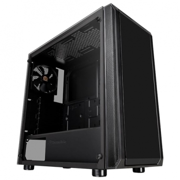 Компьютерный корпус Thermaltake Versa J23 TG Edition CA-1L6-00M1WN-00 Black