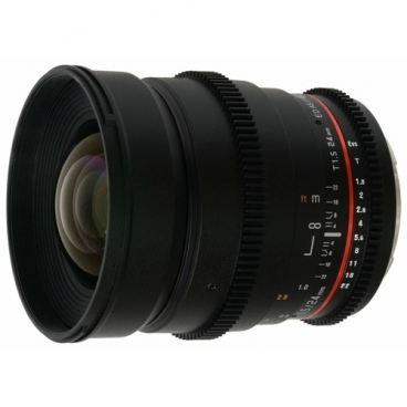 Объектив Samyang 24mm T1.5 ED AS UMC VDSLR Canon EF