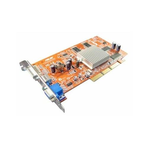 Видеокарта ASUS Radeon 9250 240Mhz AGP 128Mb 400Mhz 128 bit DVI TV