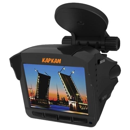 Видеорегистратор с радар-детектором CARCAM Комбо 2, GPS, ГЛОНАСС