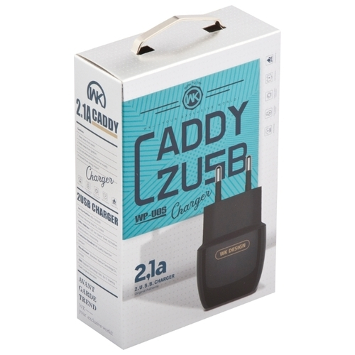 Сетевая зарядка WK Caddy 2 USB (WP-U05)