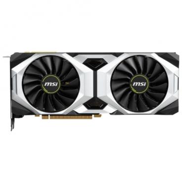 Видеокарта MSI GeForce RTX 2080 1515MHz PCI-E 3.0 8192MB 14000MHz 256 bit HDMI HDCP Ventus