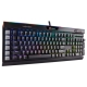 Клавиатура Corsair K95 RGB PLATINUM Rapidfire (CHERRY MX RGB Speed) Black USB