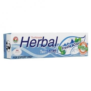 Зубная паста Twin Lotus Herbal Свежесть и прохлада