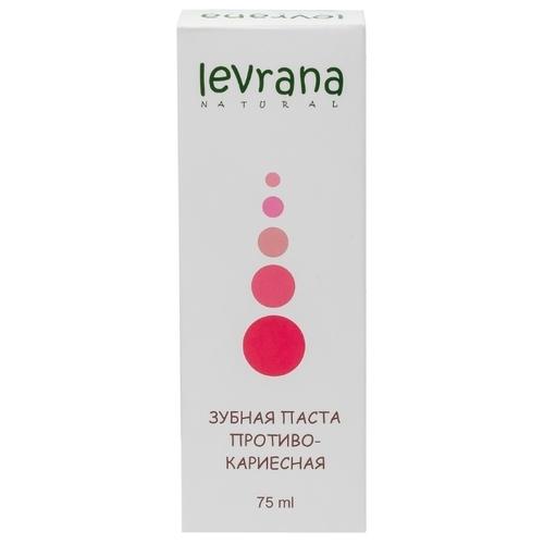 Зубная паста Levrana Противокариесная