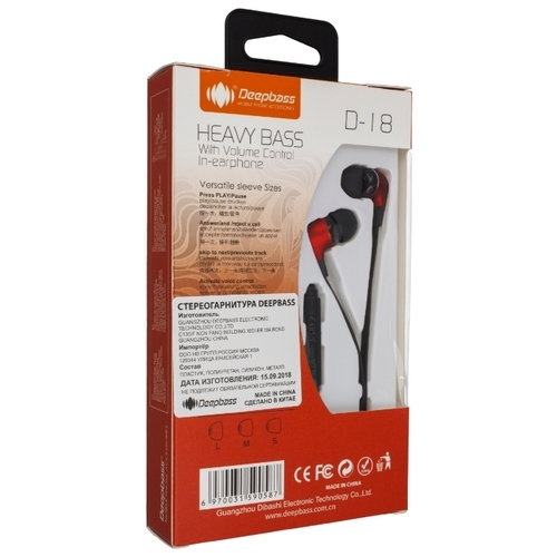 Наушники Deepbass D-18