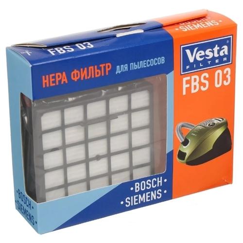 Vesta filter HEPA фильтр FBS 03