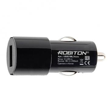 Автомобильная зарядка ROBITON USB2100/Auto