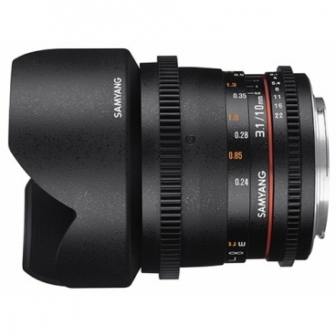 Объектив Samyang 10mm T3.1 ED AS NCS CS VDSLR Micro 4/3
