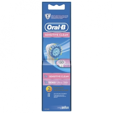 Насадка Oral-B Sensitive Clean + Sensi UltraThin