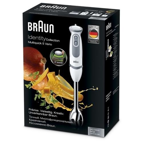 Погружной блендер Braun MQ 5000 WH Soup