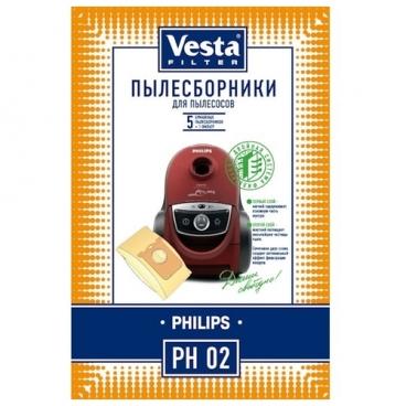 Vesta filter Бумажные пылесборники PH 02
