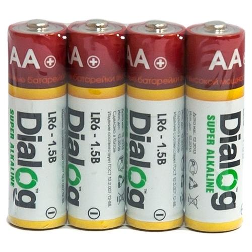 Батарейка Dialog Super Alkaline AA