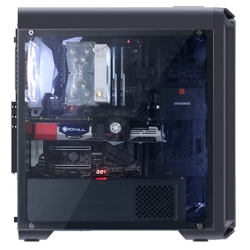Компьютерный корпус Zalman i3 Edge Black