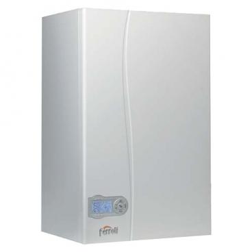 Газовый котел Ferroli Divatech D C 24 23.5 кВт двухконтурный