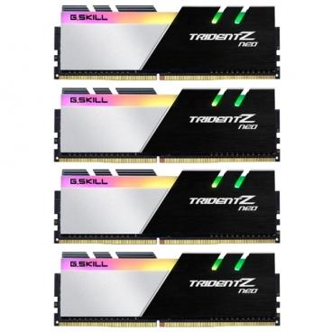 Оперативная память 8 ГБ 4 шт. G.SKILL F4-3200C16Q-32GTZN