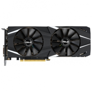Видеокарта ASUS GeForce RTX 2060 1365MHz PCI-E 3.0 6144MB 14000MHz 192 bit DVI 2xHDMI HDCP DUAL Advanced