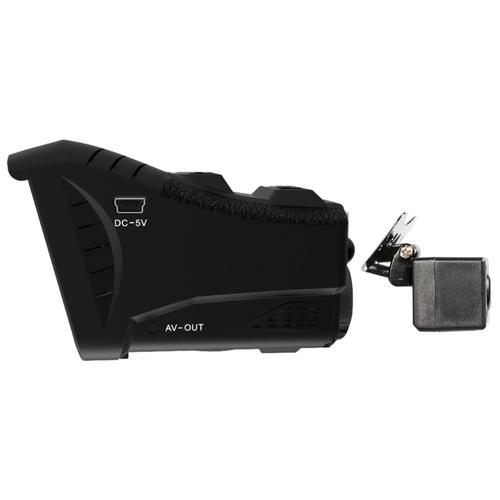 Видеорегистратор с радар-детектором CARCAM Комбо 3S, 2 камеры, GPS, ГЛОНАСС