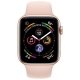 Часы Apple Watch Series 4 GPS + Cellular 40mm Stainless Steel Case with Sport Band