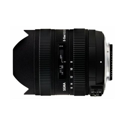 Объектив Sigma AF 8-16mm f/4.5-5.6 DC HSM Minolta A
