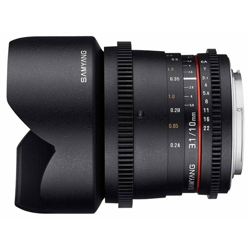 Объектив Samyang 10mm T3.1 ED AS NCS CS VDSLR Canon EF