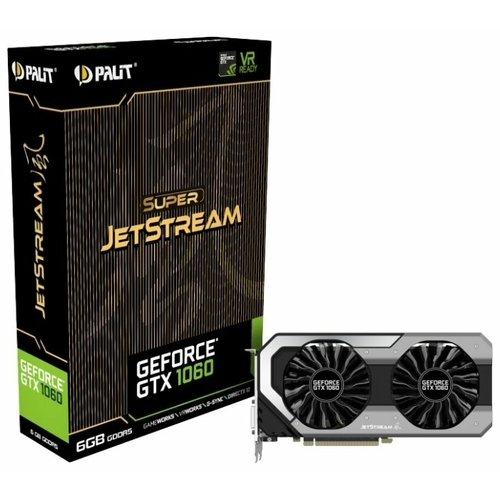 Видеокарта Palit GeForce GTX 1060 1620MHz PCI-E 3.0 6144MB 8000MHz 192 bit DVI HDMI HDCP