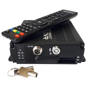 Видеорегистратор BestDVR 407 Mobile-SD-12, без камеры, GPS