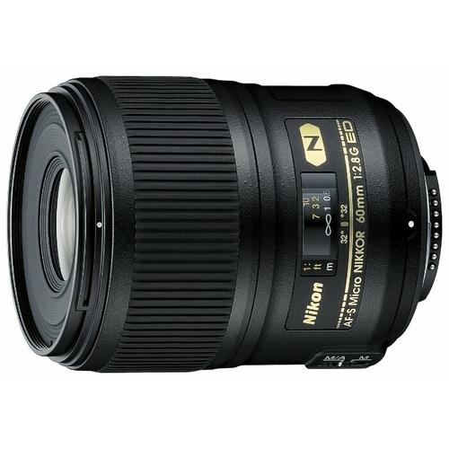 Объектив Nikon 60mm f/2.8G ED AF-S Micro-Nikkor
