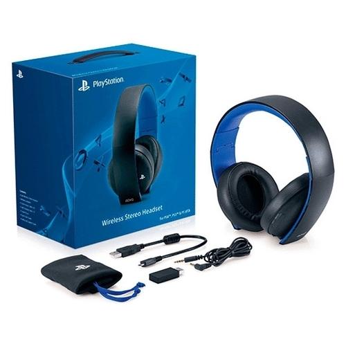 Sony Гарнитура беспроводная черная для PS4, PS3, PS Vita (CECHYA-0083)