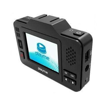 Видеорегистратор с радар-детектором Playme P550 TETRA, GPS