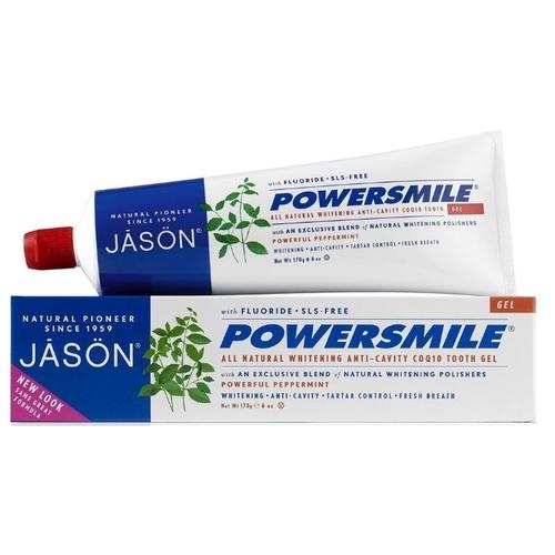 Зубная паста JASON Powersmile фтор Перечная мята