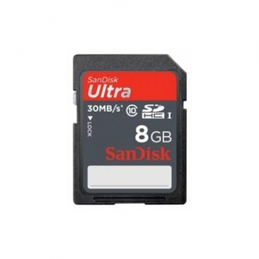 Карта памяти SanDisk Ultra SDHC Class 10 UHS-I 30MB/s