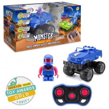 Машинка Junfa toys Monster Smash Ups разбирающийся внедорожник Phoenix