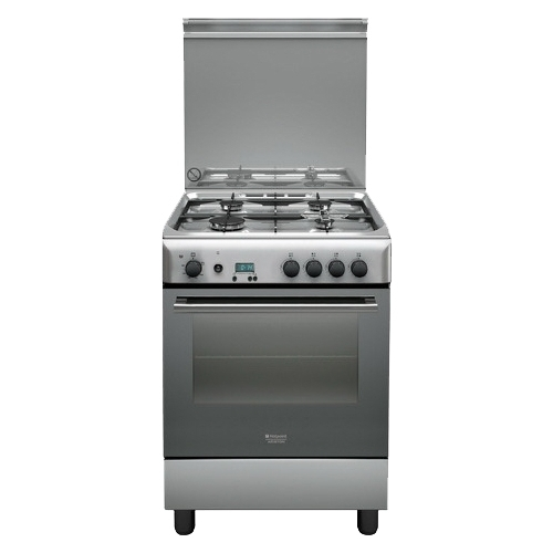 Плита Hotpoint-Ariston H6GG5F (X)