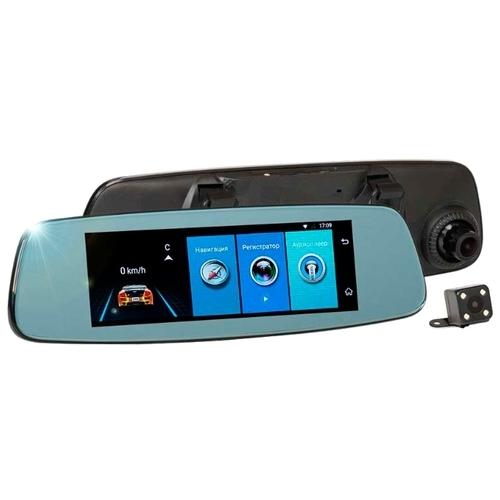 Видеорегистратор RECXON AutoSmart Lite, 2 камеры, GPS, ГЛОНАСС