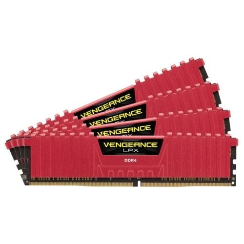 Оперативная память 8 ГБ 4 шт. Corsair CMK32GX4M4A2666C16